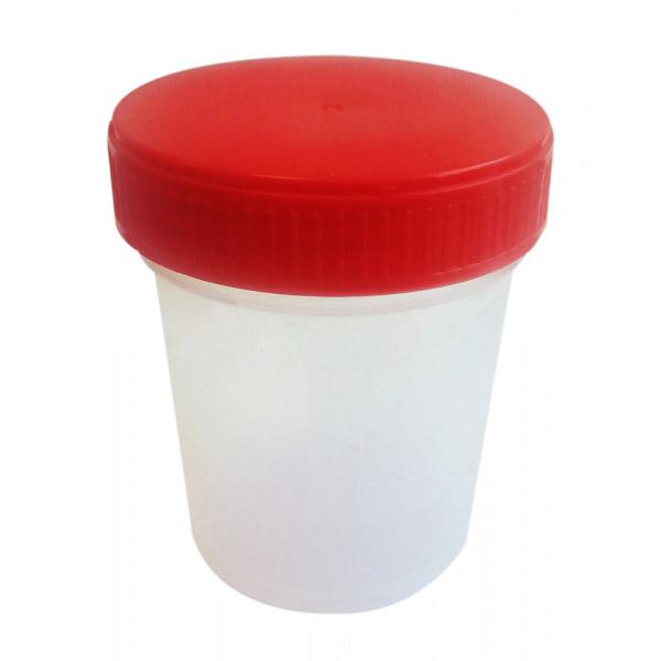Контейнер стерильный Клинса для биоматериалов с крышкой 125 мл<br>