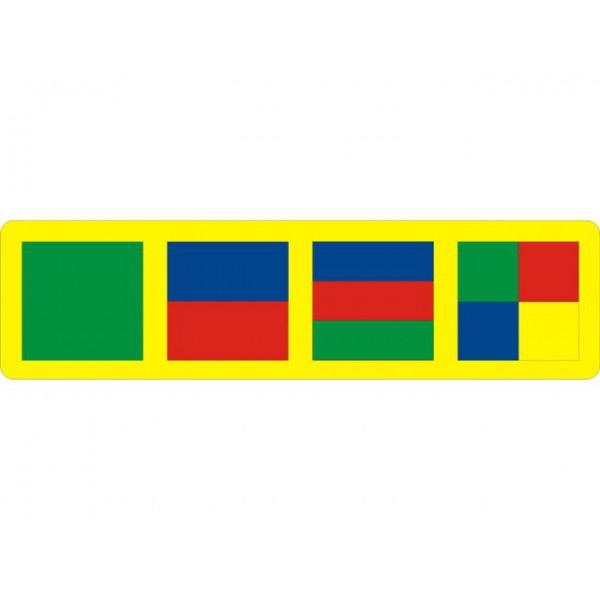Мозаика Флексика с геометрическими фигурами арт. 45310<br>