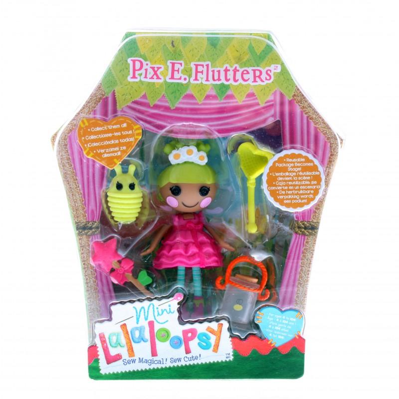 Кукла Mini Lalaloopsy с аксессуарами Pix E Flutters