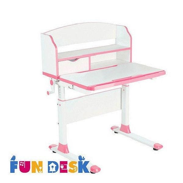 Парта-трансформер FunDesk Pensare с надстройкой Pink<br>