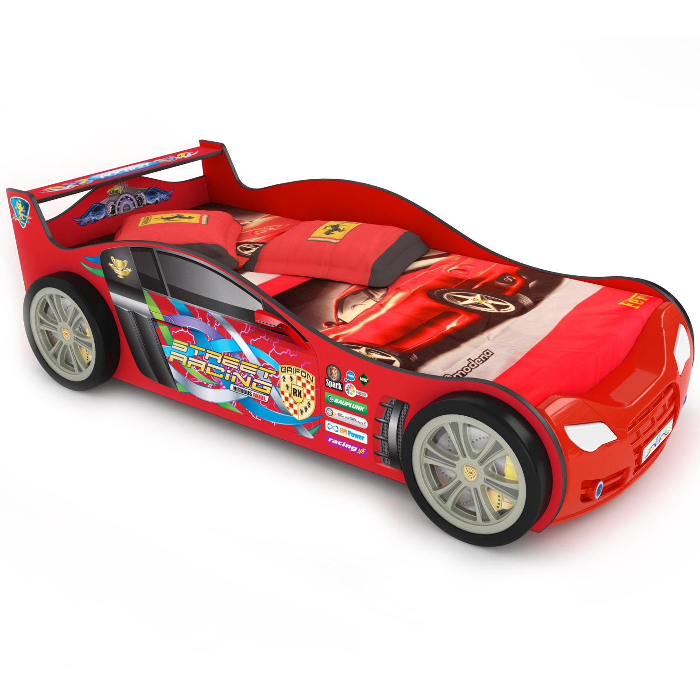 Кровать-кроссовер Grifon Style RХ800 Красный<br>