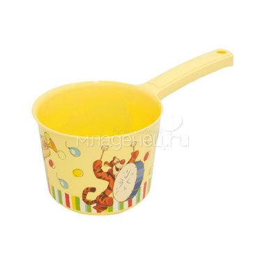 Ковш Disney Винни (цвет - банановый)
