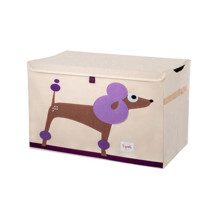 Сундук для хранения игрушек 3 Sprouts Пудель (Purple Poodle) Арт. 27256<br>