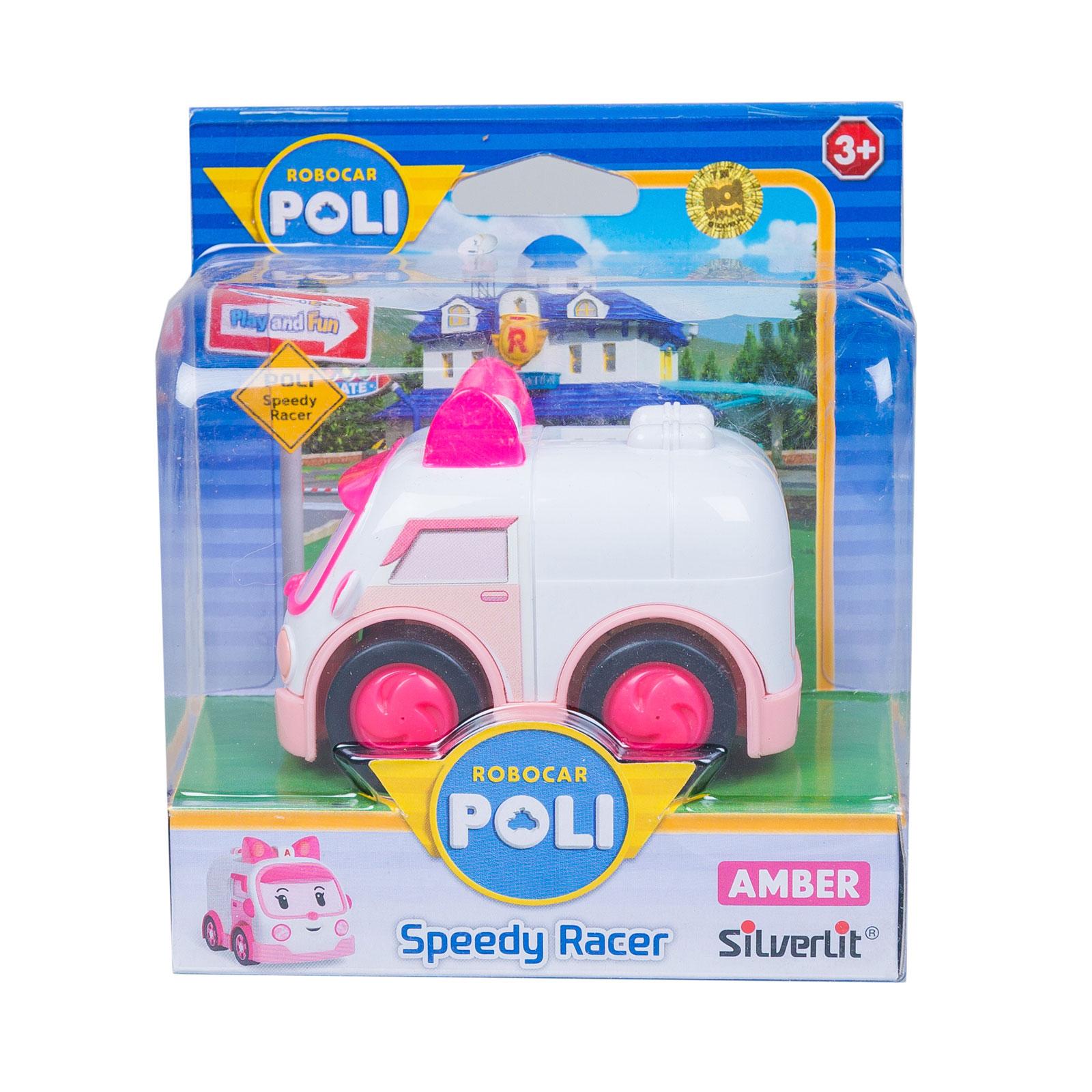 Машинки Silverlit Poli Robocar инерционные 8 см Скорая помощь 8 см с 3 лет<br>