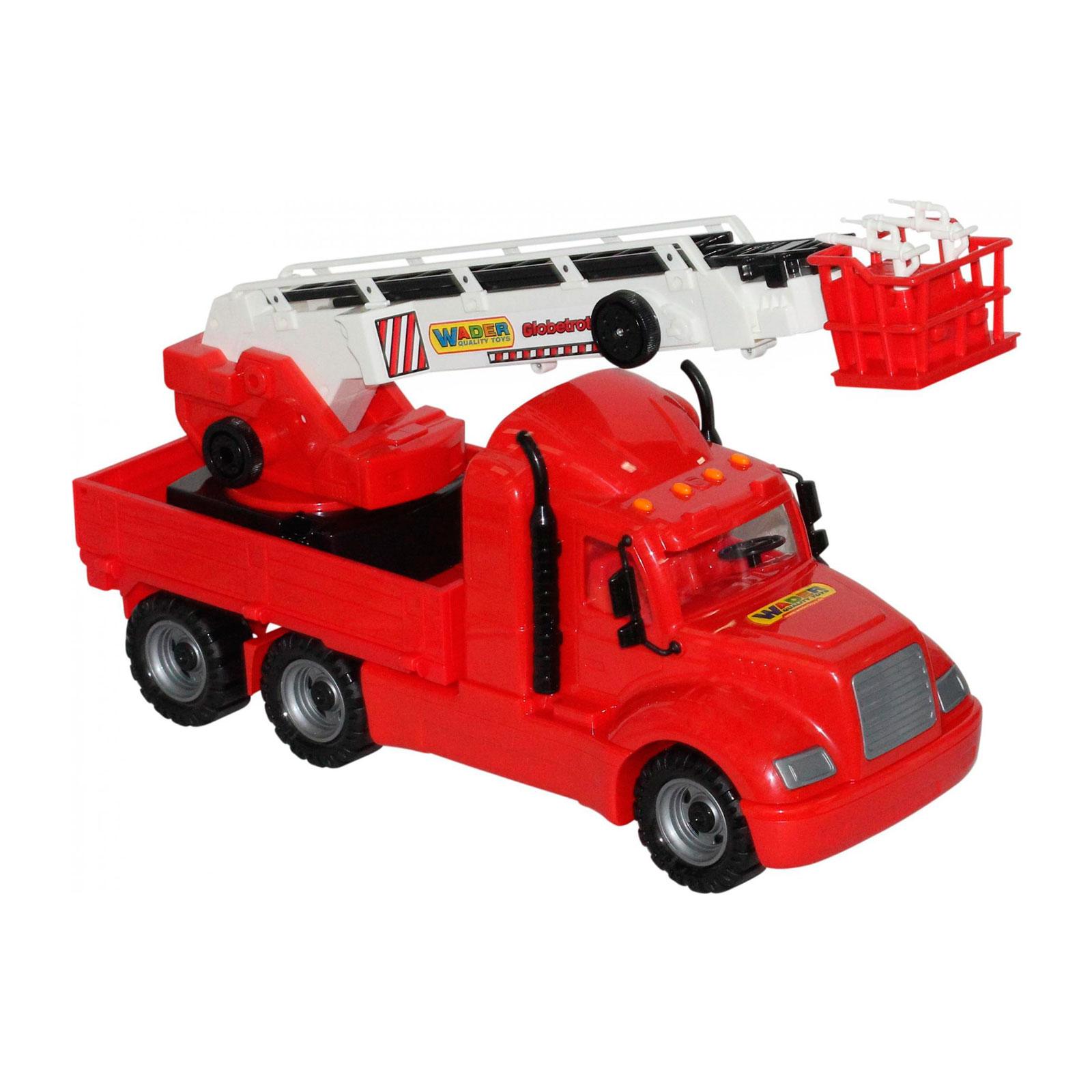 Автомобиль Wader Пожарный Майк в сеточке 55620<br>