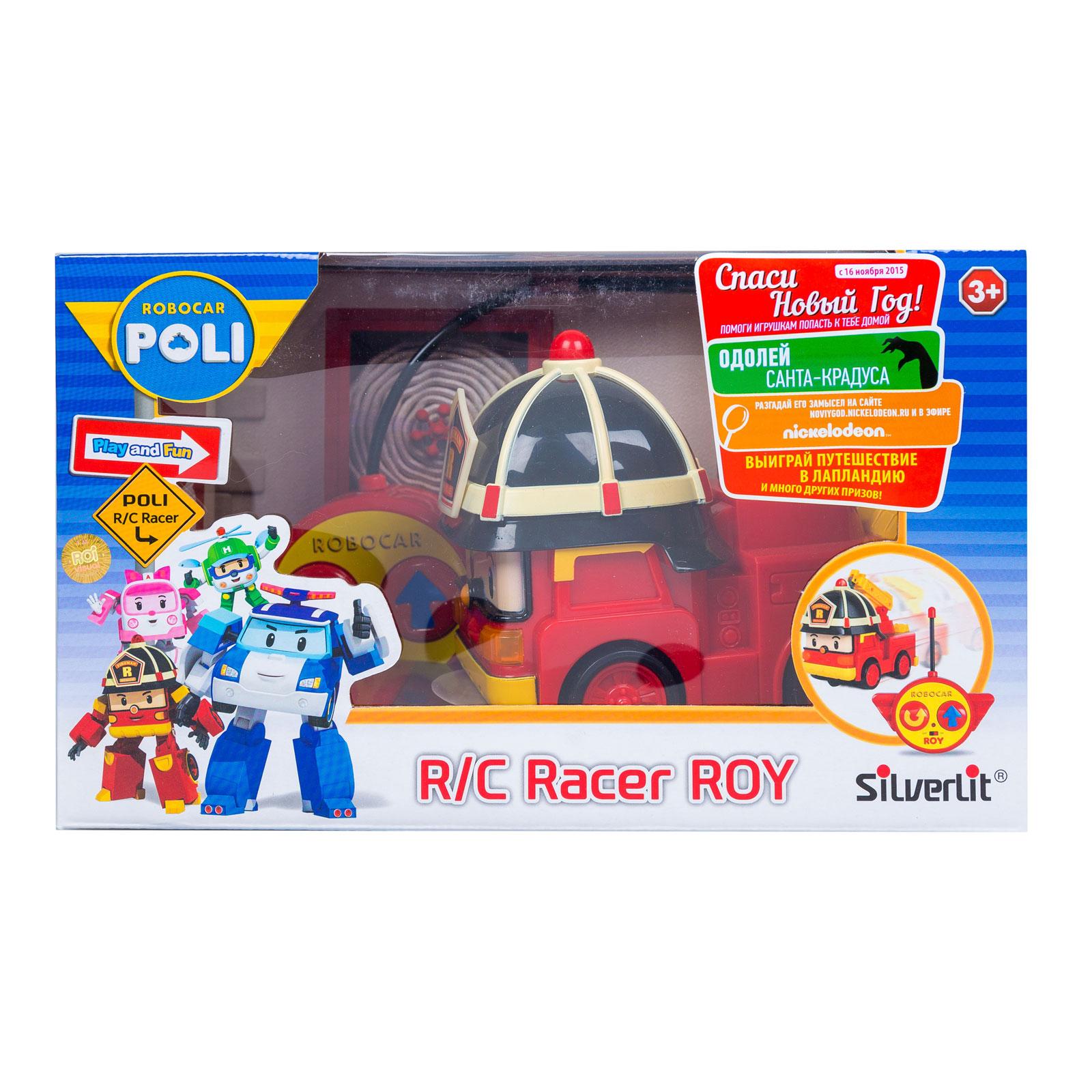 Машинки Silverlit Poli Robocar на радиоуправлении Пожарная машина 15 см с 3 лет<br>