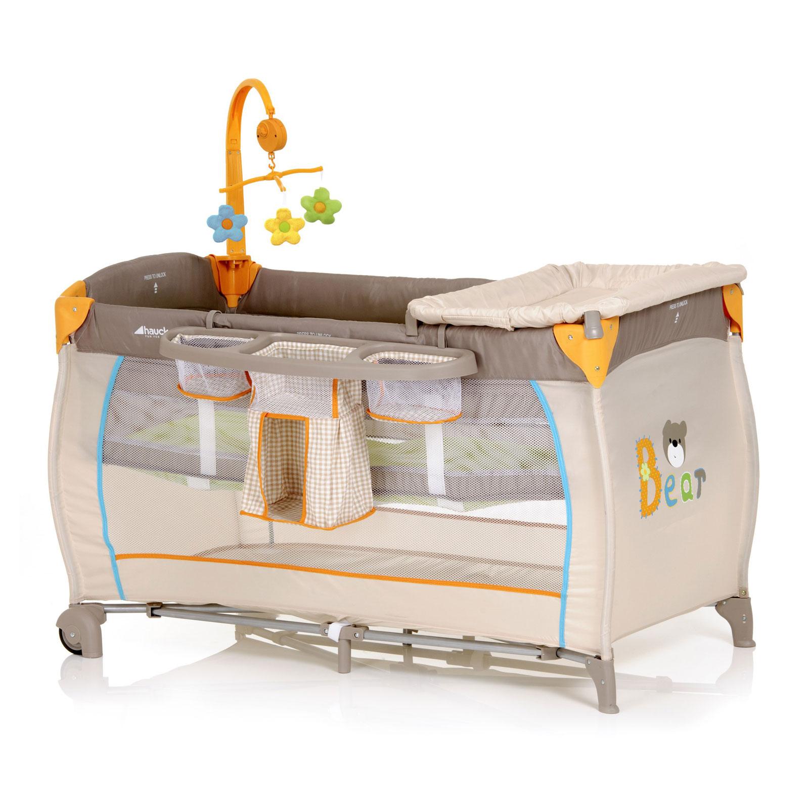 Манеж-кровать Hauck Baby Center Bear<br>