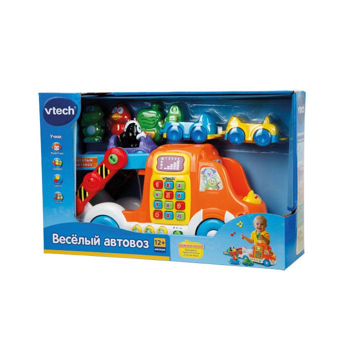 Развивающая игрушка Vtech Веселый автовоз