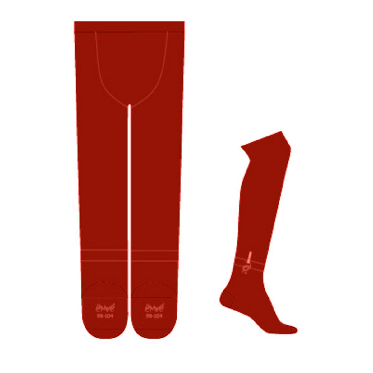 Колготки Ёмаё (буква Ё) рост 62-68 красный<br>