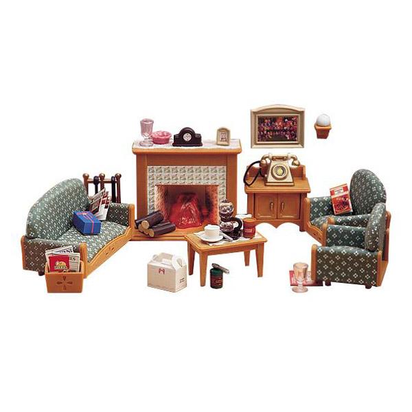 Мебель и аксессуары Sylvanian Families Гостиная Deluxe<br>
