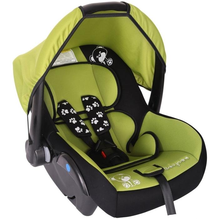 Автокресло Baby Care BC-321 Люкс Мишка Зеленый<br>