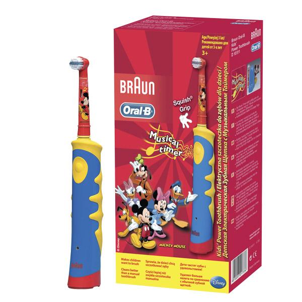 Зубная щетка электрическая Oral-B Mickey for Kids (с 3-х лет)<br>