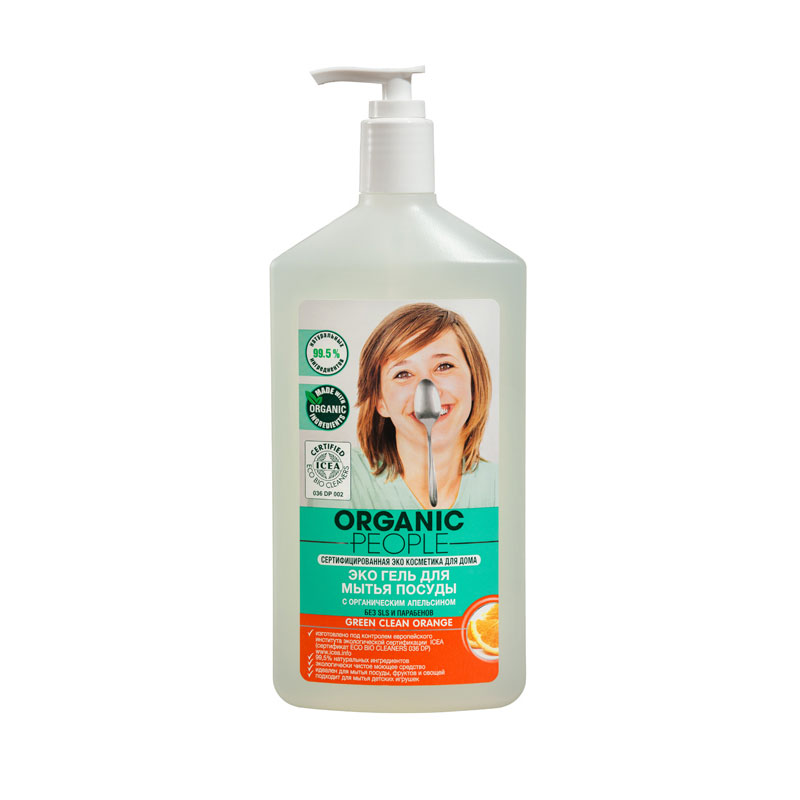 "���� ORGANIC PEOPLE 500 ��. ""Green clean"" ��� ����� ������ (��������)"