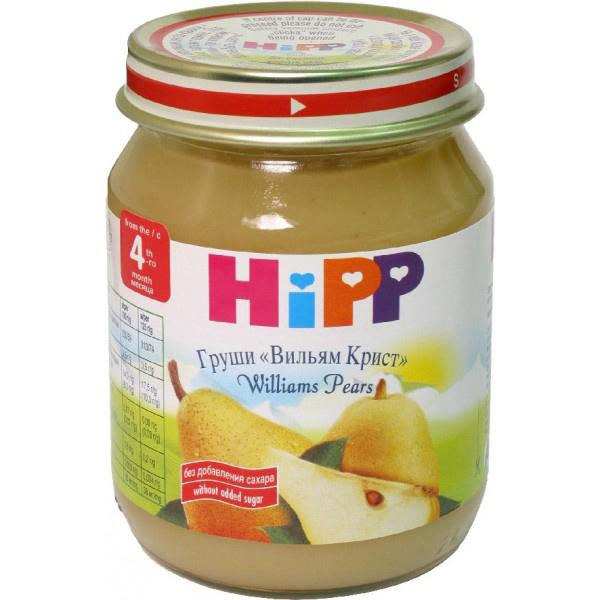 Пюре Hipp фруктовое 125 гр Груша (с 4 мес)