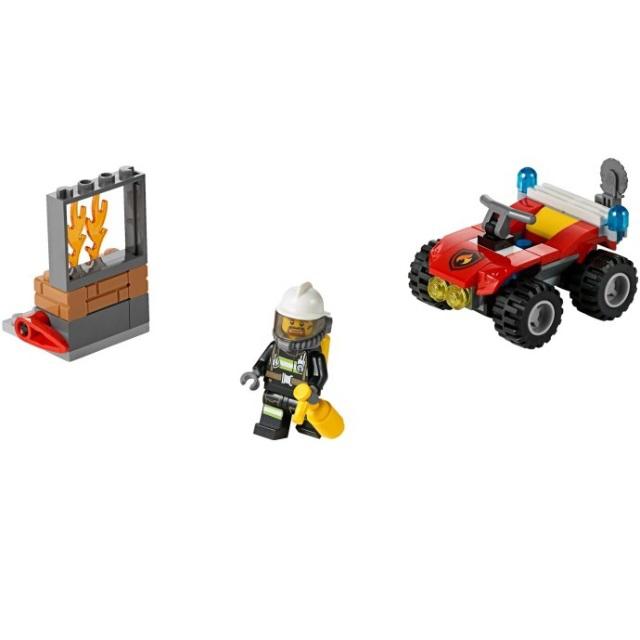 Конструктор LEGO City 60105 Пожарный квадроцикл<br>