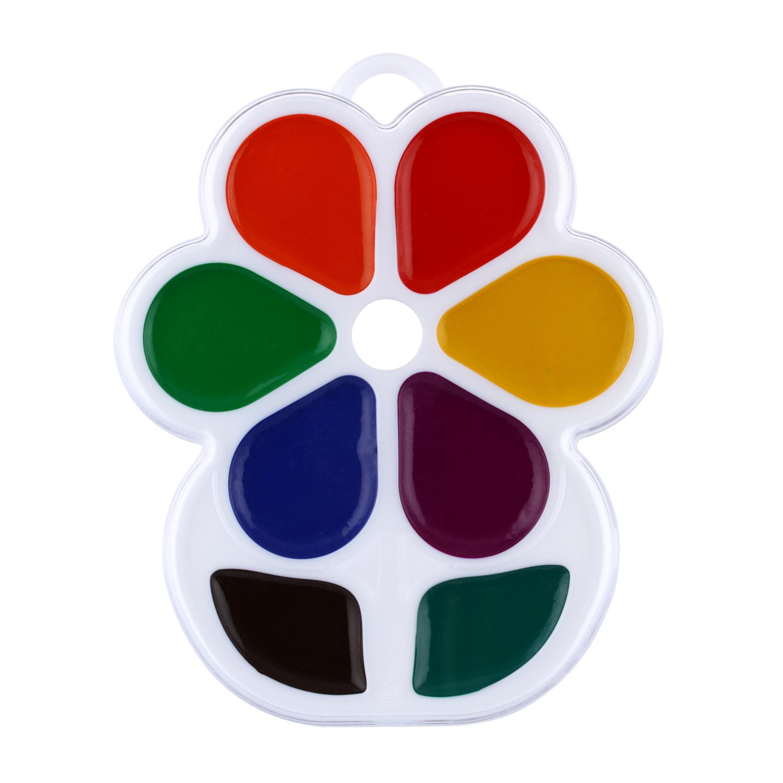 Акварель Луч Цветочек (8 цветов)