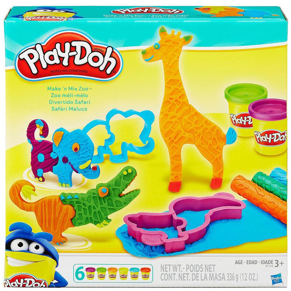 Игровой набор Play-Doh Веселые сафари<br>