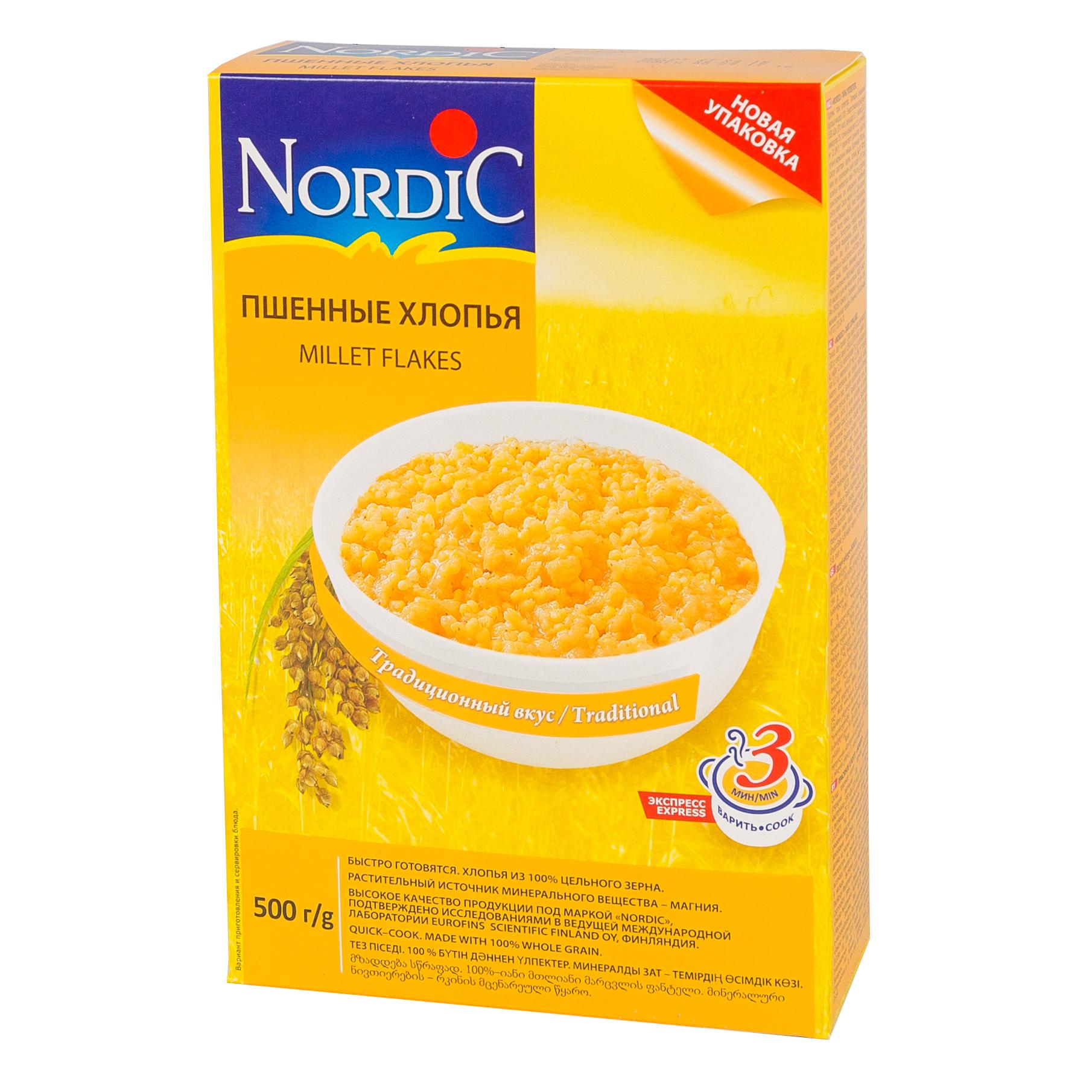 Каша Nordic безмолочная 500 гр Пшённая (с 12 мес)<br>