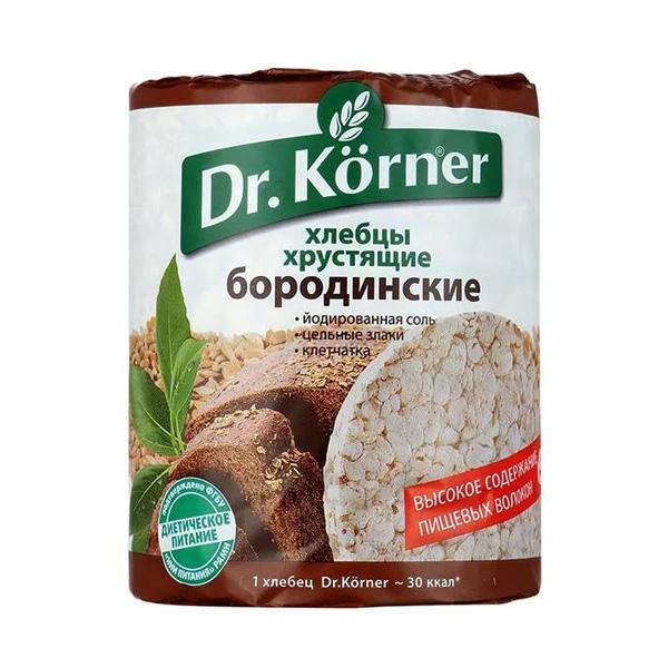 Хлебцы Dr.Korner 100 гр Бородинские<br>