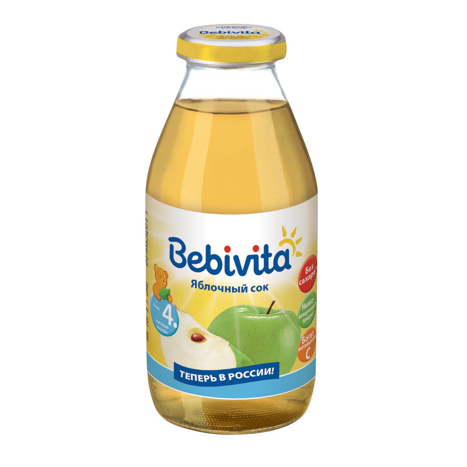 Сок Bebivita 200 мл Яблоко (с 4 мес)<br>