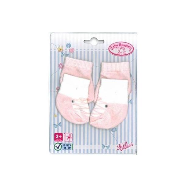 Одежда для кукол Zapf Creation Baby Annabell Носочки 2 пары в блистере (В ассортименте)