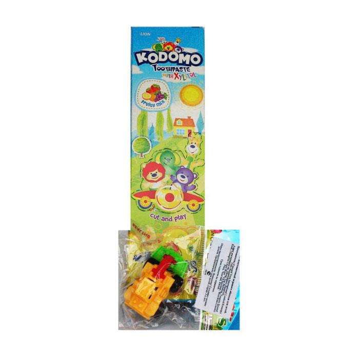 Зубная паста Kodomo Mix Fruits 45 гр с 6 мес + игрушка<br>