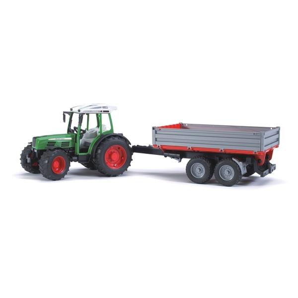 Трактор Bruder Fendt 209 S С прицепом<br>