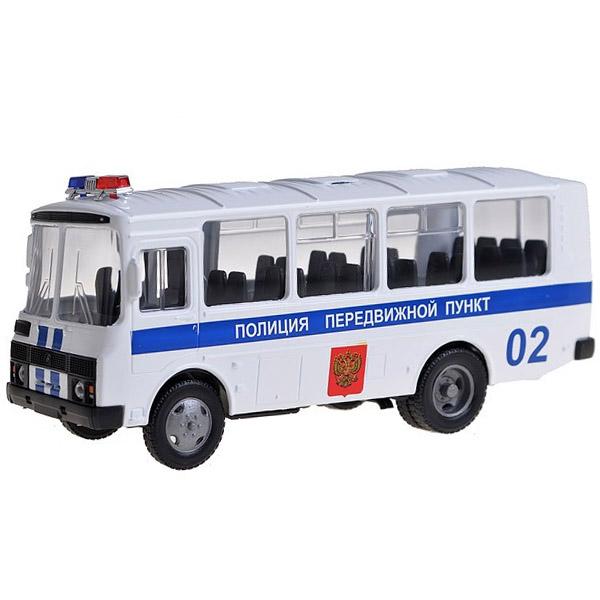 Машинка Autotime ПАЗ-32053 полиция 1:43<br>