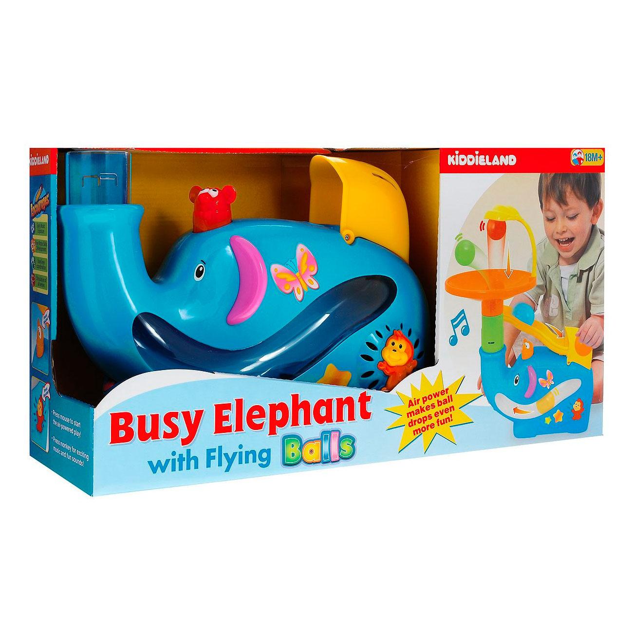 Развивающая игрушка Kiddieland Забавный слон с шарами<br>