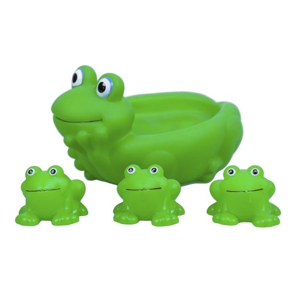 Игрушка для ванной ПОМА Ребятки-лягушатки<br>
