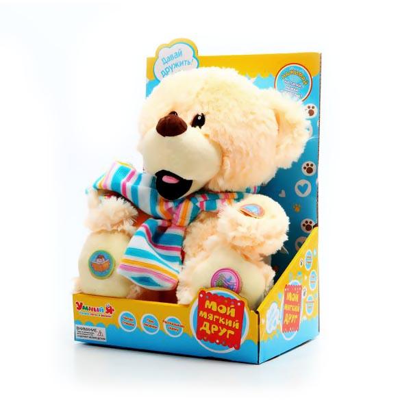 Мягкая игрушка Zhorya Мишка с шарфом<br>