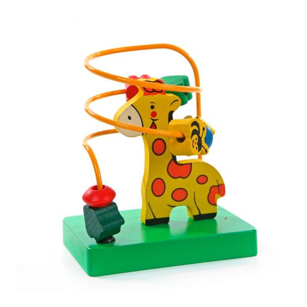 Лабиринт Деревянные игрушки Жираф<br>