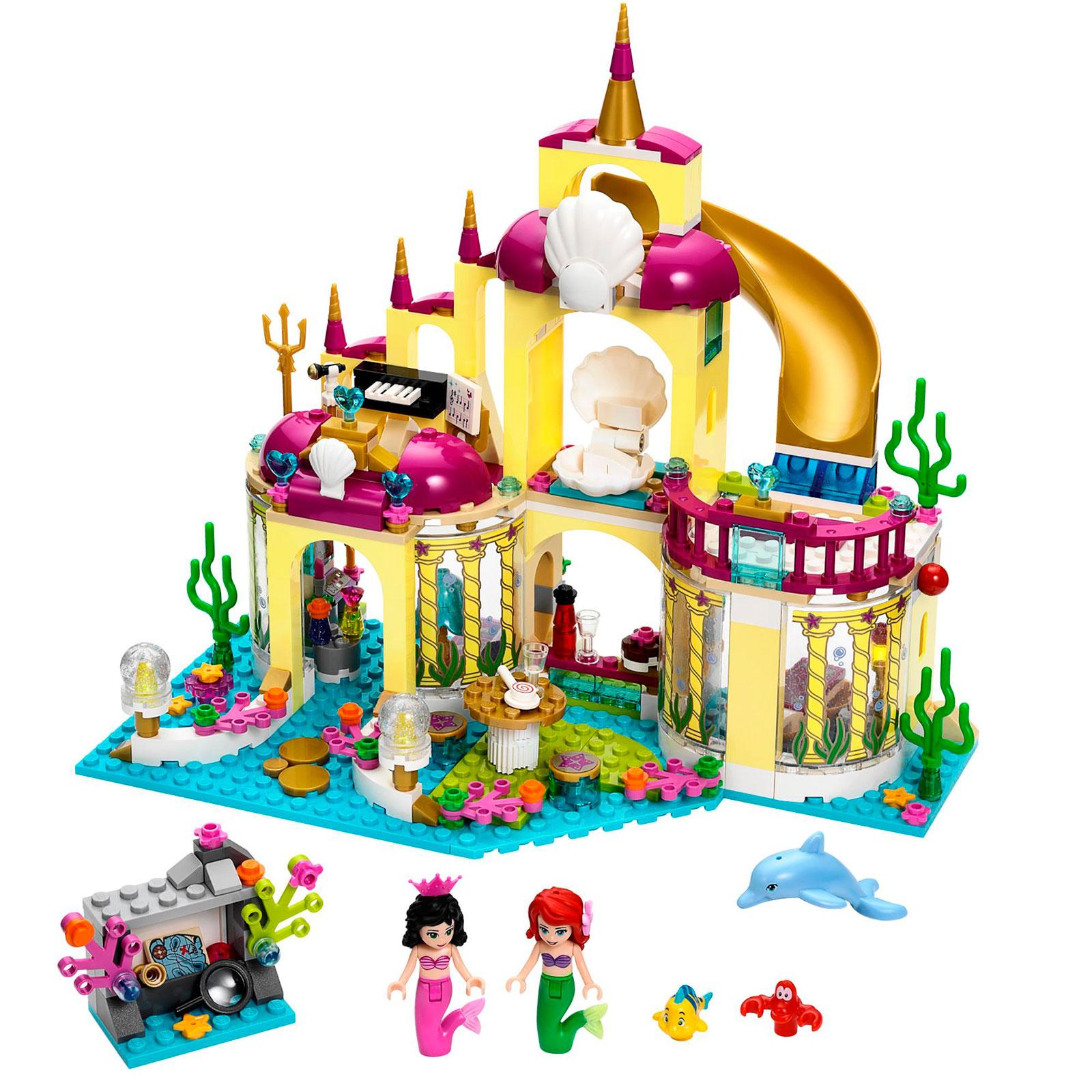 Конструктор LEGO Princess 41063 Подводный дворец Ариэль<br>