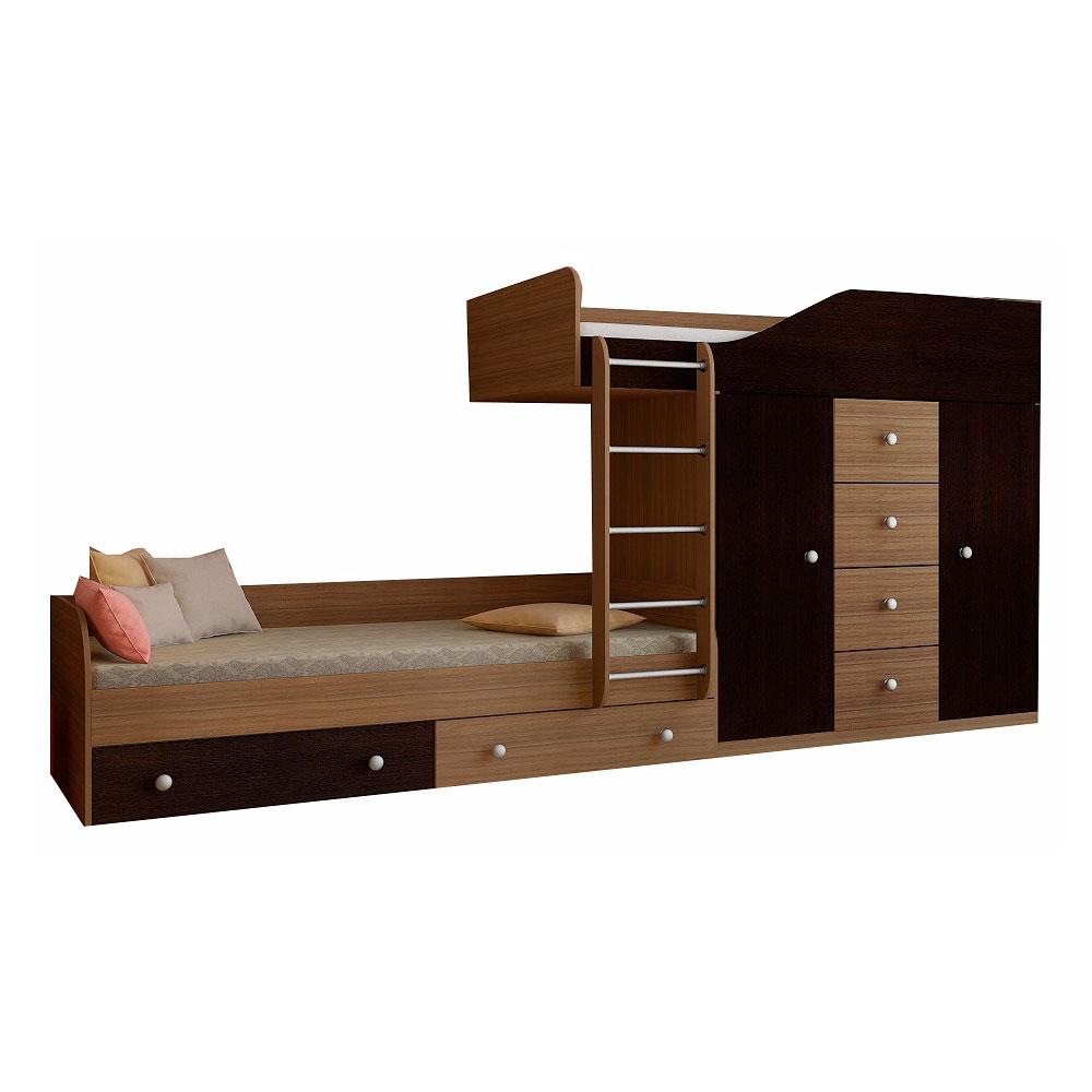 Набор мебели РВ-Мебель Астра 6 Дуб шамони/Венге