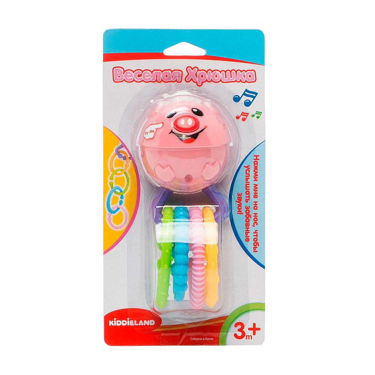 Развивающая игрушка Kiddieland Веселая хрюшка<br>