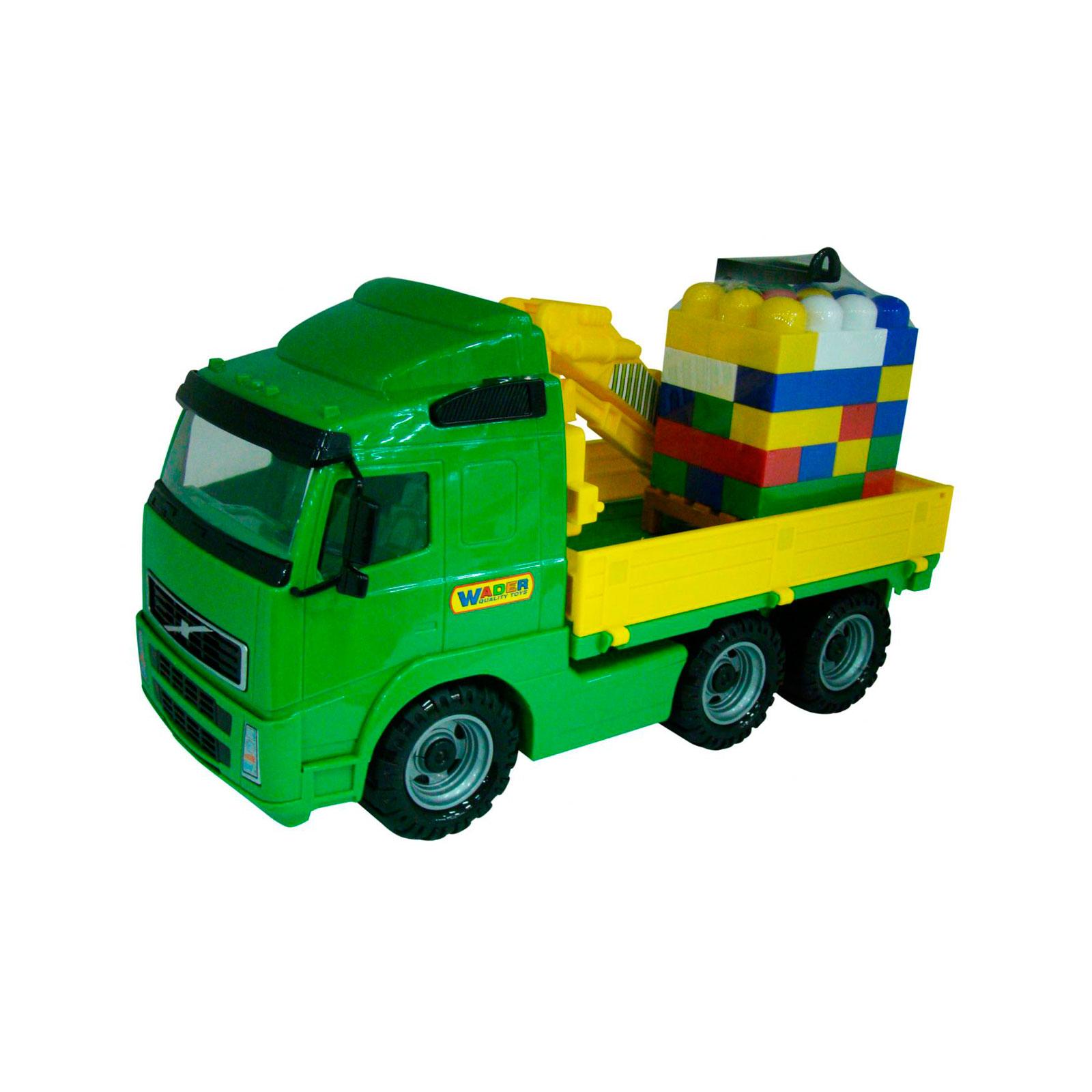Автомобиль-кран Wader С манипулятором Супер-Микс 30 элементов на поддоне в коробке 9586<br>