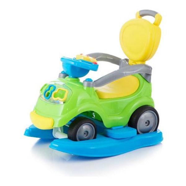 Каталка Jetem Pupuwalking Ridden Car Зеленая