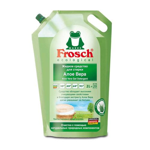 Жидкое средство Frosch для стирки 2 л. АЛОЕ ВЕРА<br>