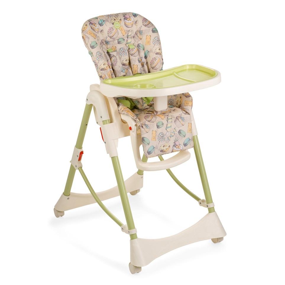 Стул для кормления Happy Baby Kevin V2 Green<br>
