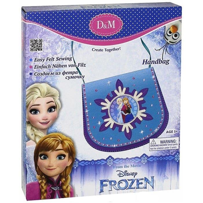 Набор D&amp;amp;M Шьем сумочку из фетра Эльза и Анна_Frozen<br>