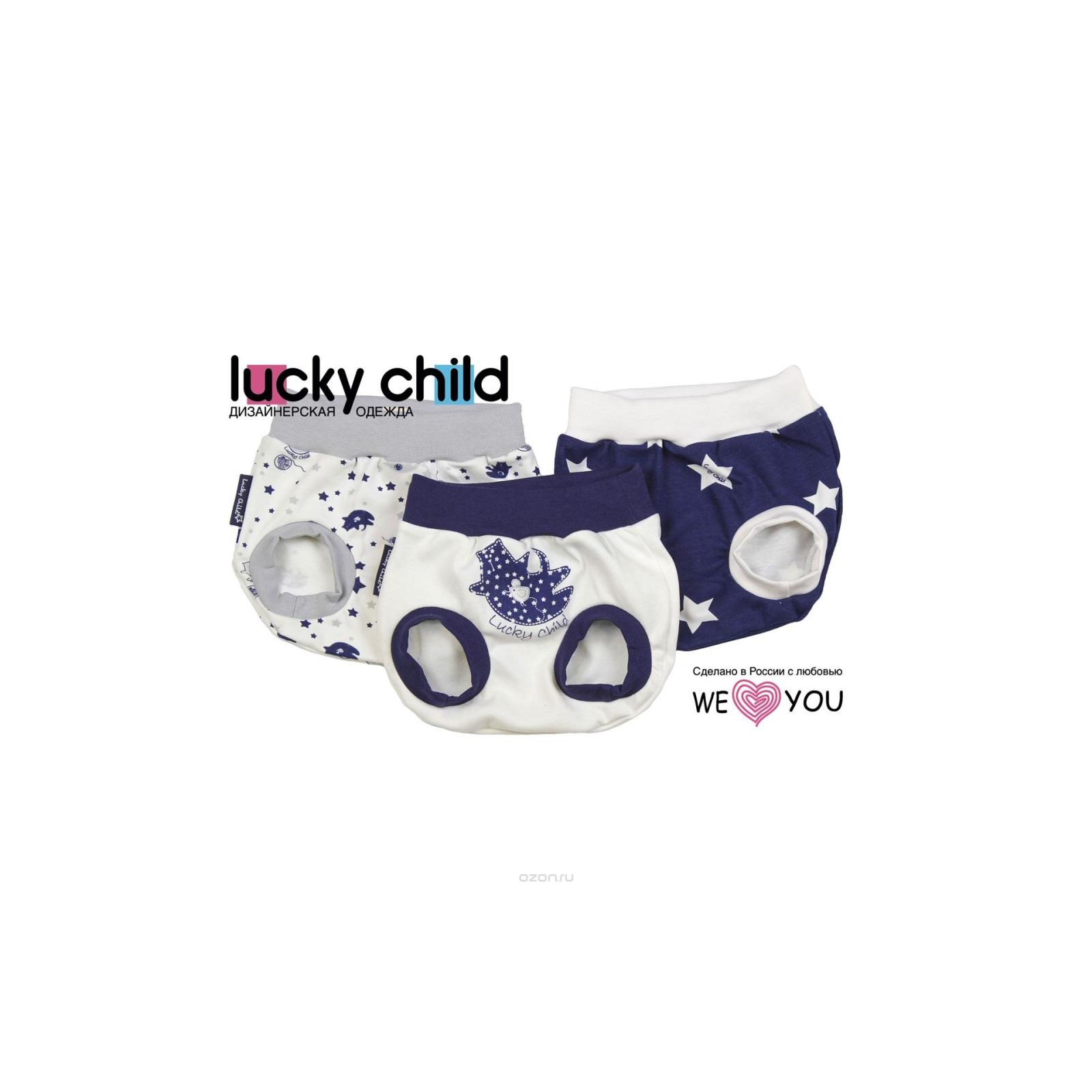 Комплект трусики Lucky Child Котики (3 шт) рост 56<br>