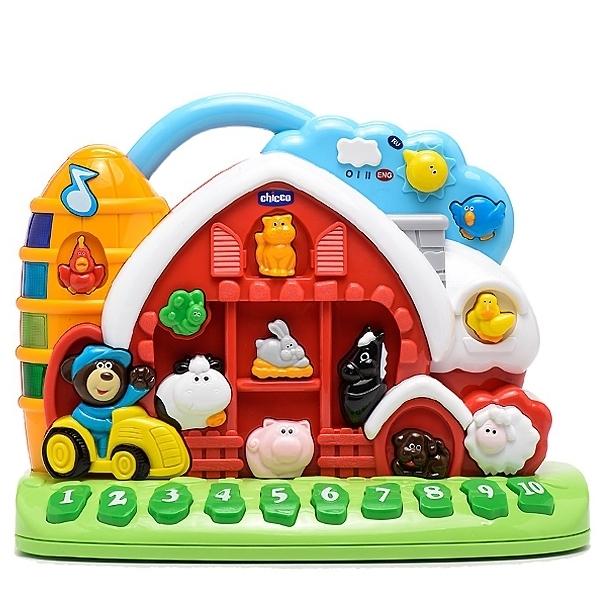Развивающая игрушка Chicco Говорящая ферма с 12 мес.<br>