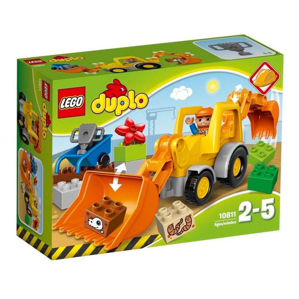 Конструктор LEGO Duplo 10811 Экскаватор-погрузчик<br>