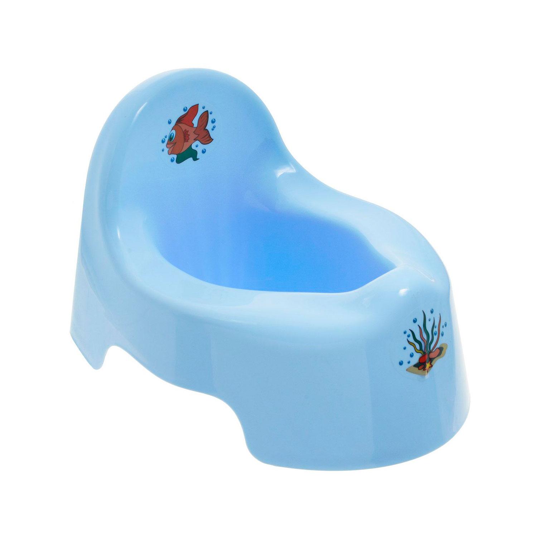 Горшок детский Idea голубой<br>
