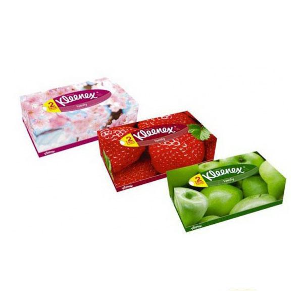 Бумажные салфетки Kleenex FAMILY 2-х слойные 150 шт<br>