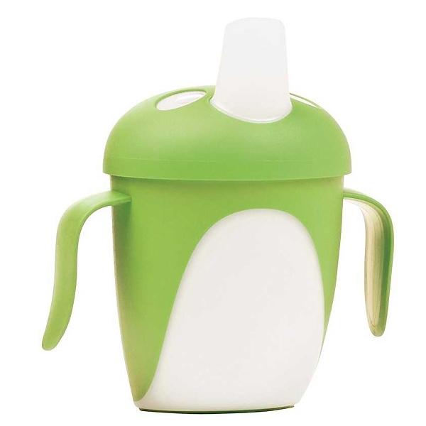 Чашка-непроливайка Canpol Babies С ручками 240 мл (с 9 мес) зеленая<br>