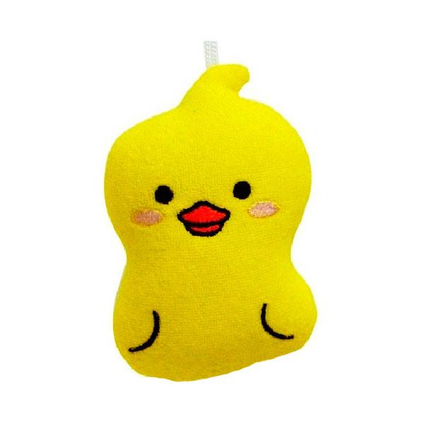 Мочалка-спонж Kokubо Furocco Желтый Утенок (Kokubo)