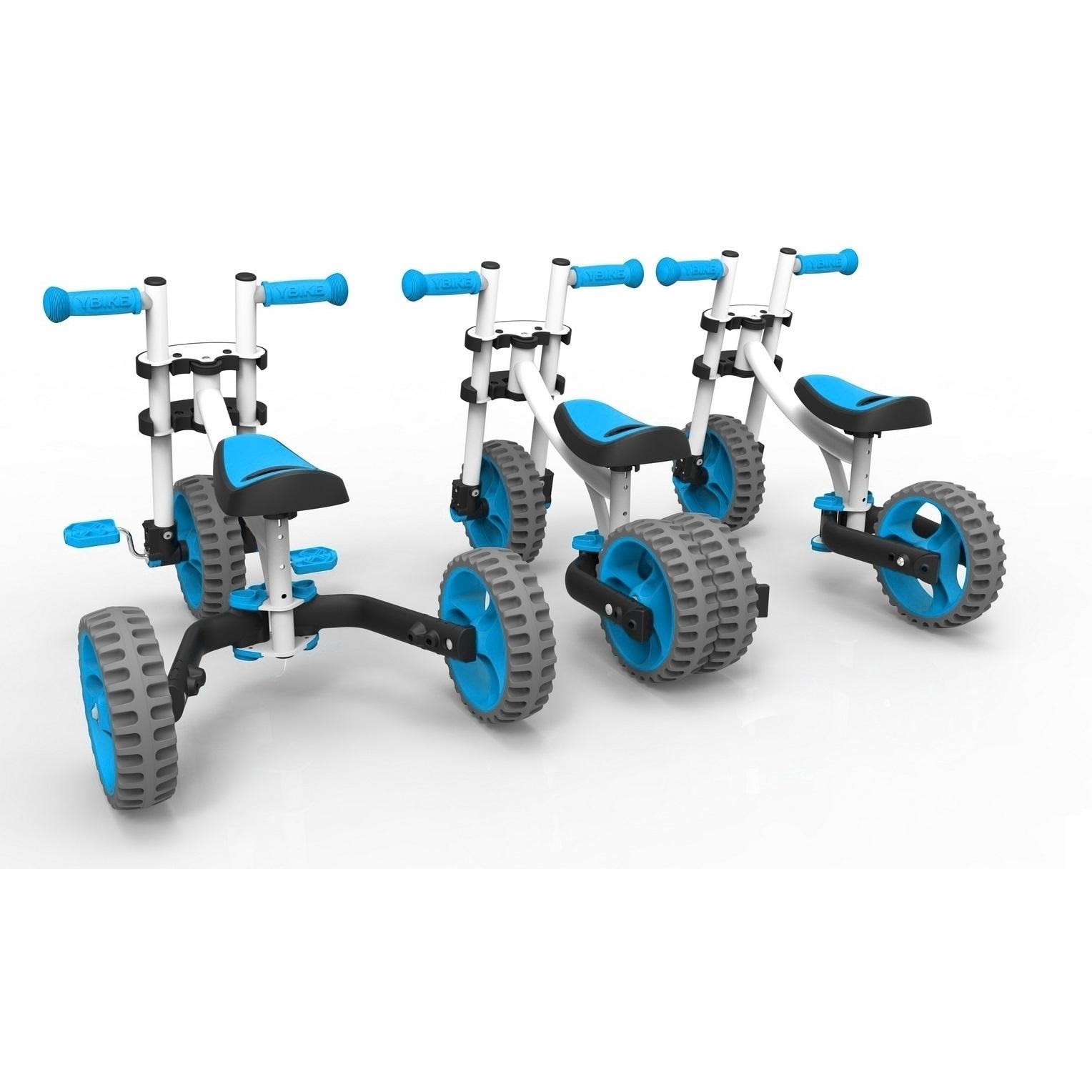 Велобалансир-велосипед Y-Bike Evolve Trike White Blue<br>