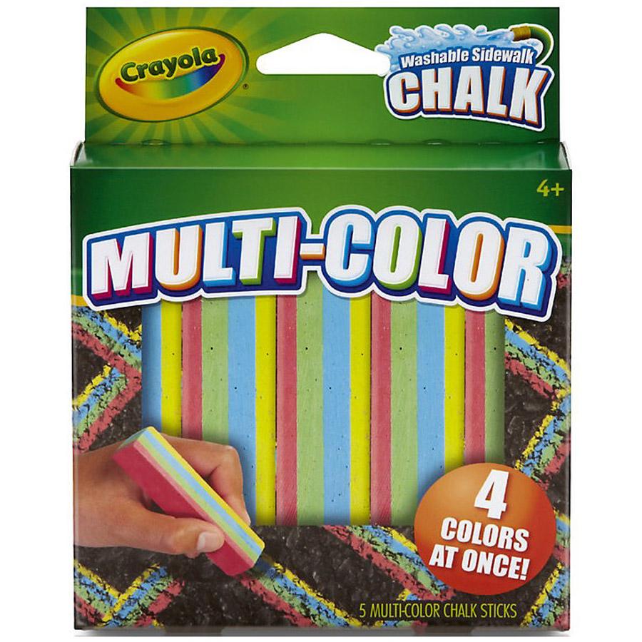 Мел Crayola Для асфальта многоцветный<br>