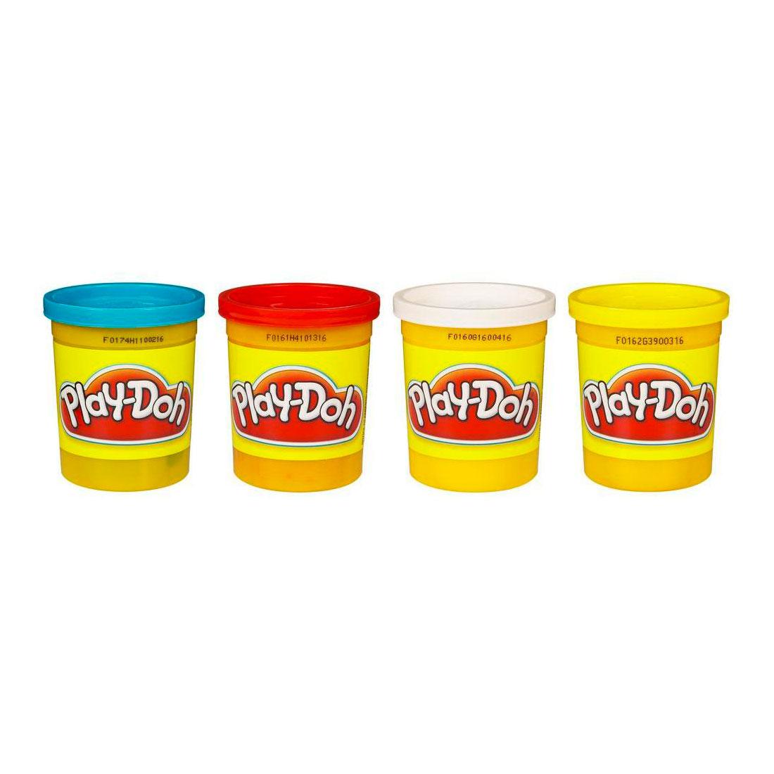 Набор для лепки Play-Doh 4 баночки в ассортименте<br>